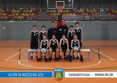 ALEVIN 04 MASCULINO AZUL