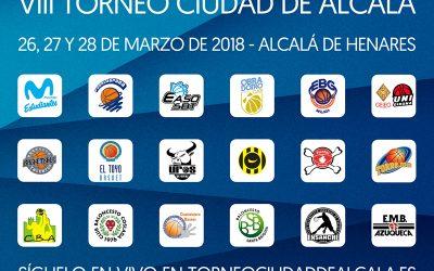 Presentación VIII Torneo Ciudad de Alcalá